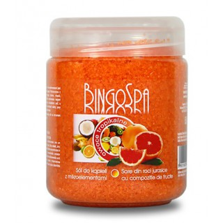 BingoSpa Tropical Fruit Bath Salt with Microelements