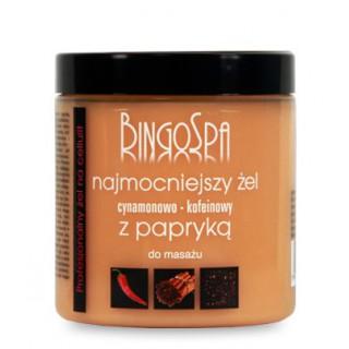 Najmocniejszy żel cynamonowo - kofeinowy z papryką BingoSpa