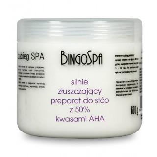 Silnie złuszczający preparat z 50% kwasami AHA BingoSpa