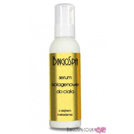 BingoSpa Body serum with collagen and macadamia oil